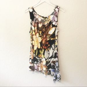 JAMS' WORLD tropical floral swim cover-up …